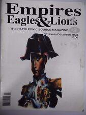 Gli imperi Eagles & LEONI NUMERO 3 fonte NAPOLEONICO RIVISTA MILITARE/Giochi Di Guerra