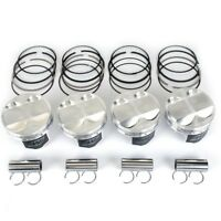 WISECO 82MM 11.83:1 CR ACURA INTEGRA RS LS GS B18 B18A1 B18B1 FORGED PISTONS KIT