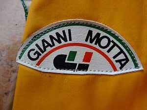 NOS Motta Gianni cover shoes leather cycling new old stock