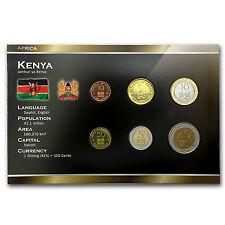 1995-2005 Kenya 10 Cents-20 Shillings Coin Set Unc - SKU #87173