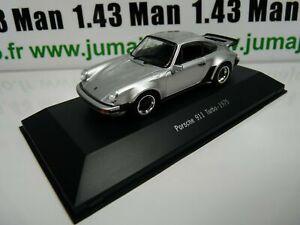 POR5 : voiture 1/43 atlas NOREV PORSCHE 911 : PORSCHE 911 turbo-1975