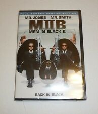 Men in Black II (DVD, 2002, 2-Disc Set Special Edition Full Frame) Will Smith FS