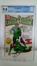 GREEN LANTERN # 87  CGC 9.0  KEY 1ST JOHN STEWART HBO TV  NEAL ADAMS 1971