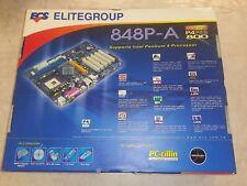 ECS 848P-A Socket 478 Intel Pentium 4 P4 Celeron Motherboard