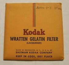 "KODAK WRATTEN GELATIN FILTER NO. Aero 1-3  3"" or 7.6cm Square"
