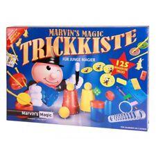 Marvins Magic Trickkiste Zauberkasten mit 125 Zaubertricks Anleitung NEU / OVP