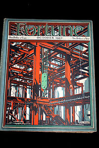 """VINTAGE OCTOBER 1932 FORTUNE MAGAZINE """"WHALES"""" AND ROOSEVELTS FORTUNE"""""""