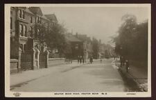Cheshire STOCKPORT Heaton Moor Rd 1921 RP PPC Grenville Series