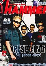 Magazin Metal Hammer 12/2000,Offspring,AC/DC,Virgin Steele,Megadeth