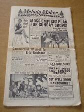 MELODY MAKER 1954 DECEMBER 11 CHRISTMAS ISSUE SUZI MILLER MOSS EMPIRES ROZA +