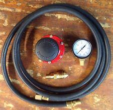 HP, Adjustable Regulator Kit  for Cookers & Smokers. 0-60 Psi, 6 Foot Hose