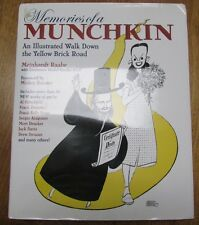 MEMORIES OF A MUNCHKIN HB BOOK SIGNED LETTER BY DANIEL KINSKE TO KELLY FREAS L