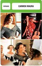 FICHE CINEMA :  CARMEN MAURA -  Espagne (Biographie/Filmographie)