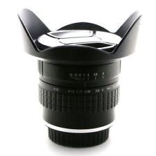 Jintu 14mm f/4.0 Micro fish eye Lens F Nikon D90 D7000 D7100 D600 D800 D300 Cam