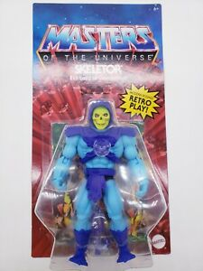 NEW WAVE Skeletor Masters Of The Universe Origins NEW FACE MOTU *IN HAND*