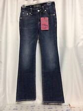 Rock & Roll Cowgirl Jeans Girls 14R Medium Wash Hip Pocket Bling Style G5 8493