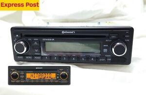 VDO CONTINENTAL CD7416UB-OR PORSCHE MERCEDES 12v RADIO *ORANGE DISPLAY BLUETOOTH