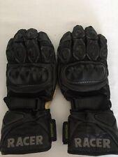 Racer Motocycle Waterproof Gloves Kangaroo Skin Ladies Large