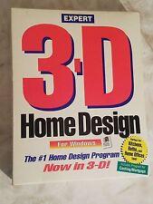 3-D Expert Home Design For Windows by Expert Software 1993