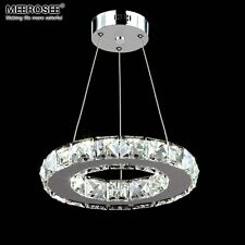 LED Crystal Ring Chandelier Pendant Light Lamp Ceiling Fixture Light Home Decor
