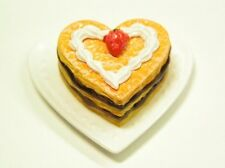 Re-ment dollhouse miniature cake on parade heart mille-feuille 2003
