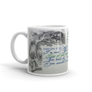 Alice in wonderland Mug Cup - Christmas Birthday Present Gift Funny