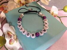 Female singers/handmade friendship bracelets/nylon/stocking fillers