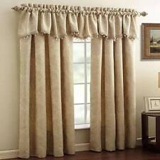"One Croscill Window Treatments, Lancaster 54"" x 84"" Panel, IVORY NEW Curtain"