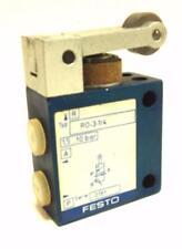 Festo Roller Lever Valve RO-3-1/4 Lever Mechanical Valve 1,5...10 bar