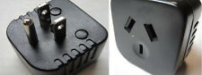 US Grounded Plug Adapter -Australia/New Zealand China Plug into 3-Pin US Plug