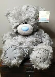 """Me To You Tatty Teddy Bear Carte Blanche Patches Plush Soft Toy UK 8"""" With Tag"""