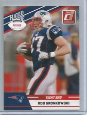 2010 Donruss #84, Rob Gronkowski   Rookie Football Card