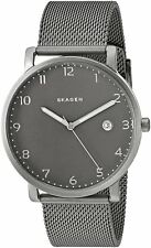 Skagen Original SKW6307 Men's Hagen Silver Stainless Steel Mesh Watch 40mm
