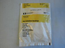 New Covidien TED Anti-Embolism Stockings Knee Length Small Regular Size A- 7071