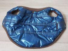 Hundemantel Pretty Pet / Farbe blau-metallic / Gr. M / NEU