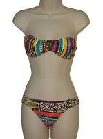 Hobie bandeau bikini size S swimsuit new