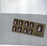 us scott # 4100a xf mnhog bklt pane of 20 stamps sa Christmas Madonna and Child