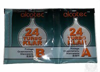Alcotec Turbo Klar 24h, Spirit   Wine , Finnings Clear Turbo Yeast Free P&P UK