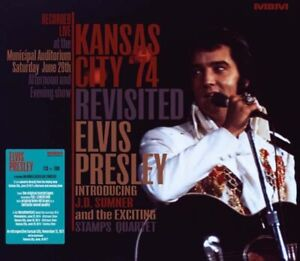 Elvis Presley Kansas City Revisited DVD + CD Set  Free Shipping worldwide