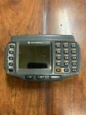Motorola Wearable Computer Scanner