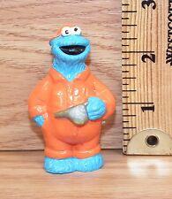 "Genuine JHP Sesame Street ""Cookie Monster Mechanic"" PVC Figure Only **READ**"