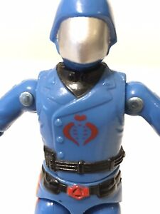 Gi joe 1982 Cobra Commander Straight Arm Mickey Mouse Logo Very Nice