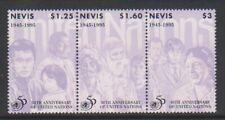 Nevis - 1995, Anniversary of the U.N set - MNH - SG 913/15