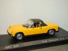 VW Porsche 914-4 1969 with Hardtop - Detail Cars 1:43 in Box *34350