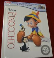 PINOCCHIO (1940) Blu-ray 2-Disc Signature Collection Target Exclusive Digibook