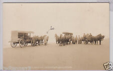 RPPC - Beach Stage Line from Marshfield to Drain, Oregon - early 1900s