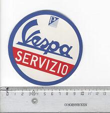 Decal/Sticker - Vespa Servizio Brommer Moped