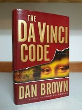The Da Vinci Code by Dan Brown (2003, Hardcover) 1st Edition 1st Print