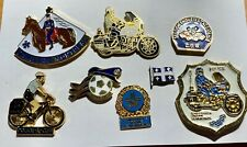 Police Montreal CUM Canada 8 Piece Set of Vintage Obsolete Pre 1992 Lapel Pins