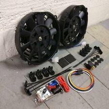 "Nova 1248 CFM 12"" Radiator Cooling Fan Temp Switch Kit beaumont"